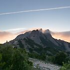 Montserrat, Spain at Dusk by nicktopus