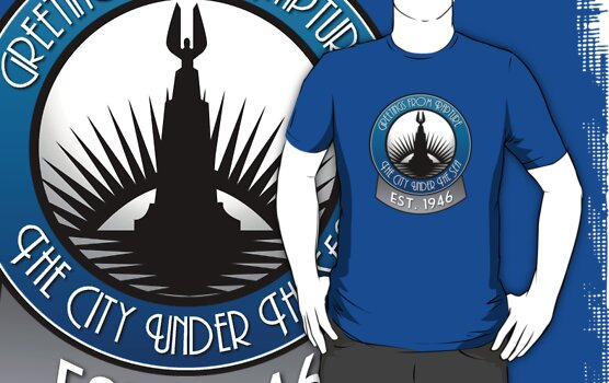 Bioshock Greetings from Rapture! by OCD Gamer Retro Gaming Art & Clothing