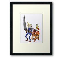 FF7 Time! Framed Print