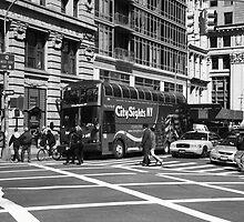 New York Street Photography 8 by Frank Romeo