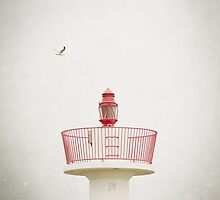 Red Lighthouse by Margaret Morrissey