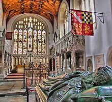 The Fitzalan Chapel - Arundel Castle 2 - HDR by Colin J Williams Photography