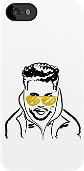 Drawing of The Weeknd by Faded Fabrics