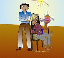 Happy Birth Parents Day_Card by Elizabeth Cash von Engelbrechten
