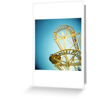 Yellow Fun Greeting Card