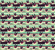 Cute Winged Turtle Pattern by SaradaBoru