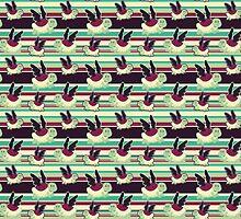 Cute Winged Turtle Pattern by SaradaBoru