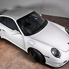 Porsche turbo in white by Martyn Franklin