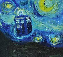Van Gogh Blue Box by siroctopus