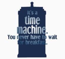 You never wait for breakfast with the Doctor Kids Clothes