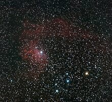 IC405 The Flaming Star by Dan Pham