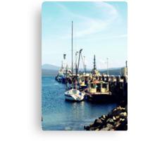Eden Wharf  Canvas Print