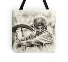 The Old Lady Tote Bag