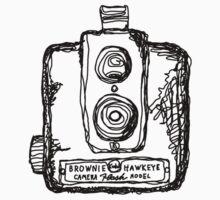 Kodak Brownie Hawkeye Film Camera by strayfoto