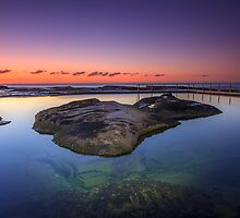 Rocks In The Pool by Andi Surjanto