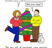Unromantic Christmas gifts from him. by KateTaylor