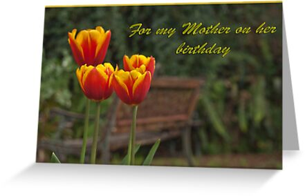 Mother's Garden by Robyn Selem