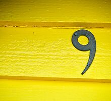 Yellow Nine - Brighton Beach Boxes - Australia by Norman Repacholi