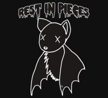 Rest in Pieces Dead Bat by Ravenous-Decay