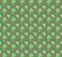 Clovers Kitties Pattern by SaradaBoru