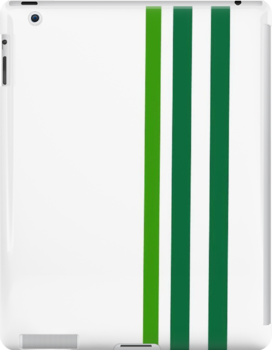 Green Stripes by CanoeComsArt