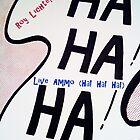 Ha! Ha! Ha! by Lichtenstein by BenVess