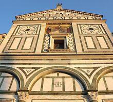 San Miniato al Monte in Florence by kirilart