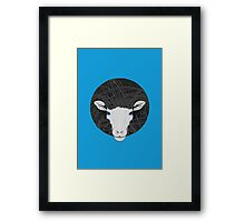 Funky Sheep Framed Print
