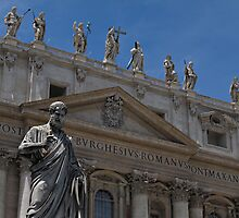The Papal Basilica of Saint Peter by kirilart