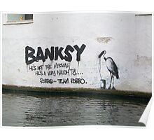 Camden Lock Banksy Poster