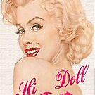 Marilyn Monroe 2 by Kanae