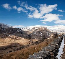 Snowdonia National Park by cameraimagery