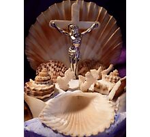 The Jesus Shell Photographic Print