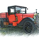 1927 Austin 12/4 pickup by oulgundog