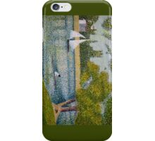 The Seine at La Grande Jatte iPhone Case/Skin