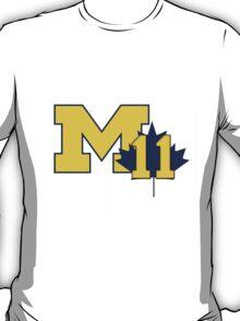 Nik Stauskas #11 UofM T-Shirt  T-Shirt