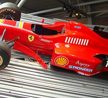 f1 ferrari by Paul Hutcheon