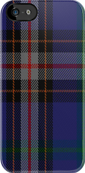 01575 Anne Arundel County District Tartan Fabric Print Iphone Case by Detnecs2013