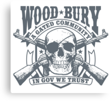 Woodbury, A Gated Community Canvas Print