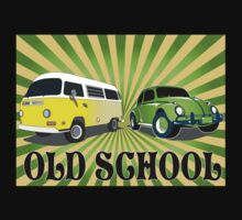 old schools vws by Brantoe