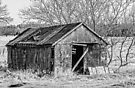 The old Shed - B&W by PhotosByHealy