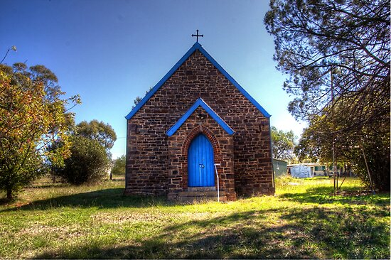 St Andrew's Anglican Church Bendick Murrell  NSW  Australia Rural by Kym Bradley