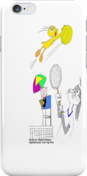 Bugs Bunny Tennis Game by Josue Vega Perez