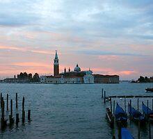 San Giorgio Maggiore before dawn by kirilart
