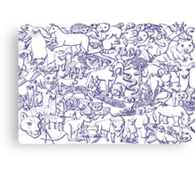 World Wildlife Canvas Print