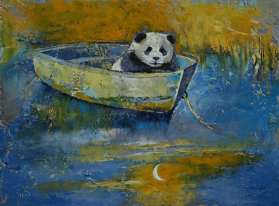 Panda Sailor by Michael Creese
