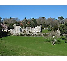 Cornwall Caerhays Castle Photographic Print