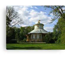 Potsdam The Chinese House Canvas Print
