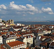 Lisbon City View by kirilart