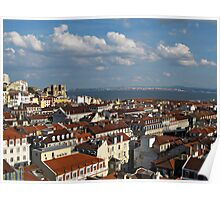 Lisbon City View Poster